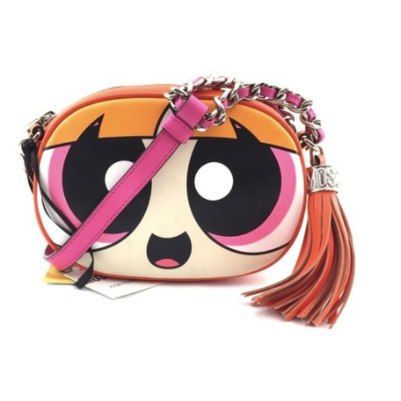 e1d9e4602d Moschino Bags | Powerpuff Girls Canteen Shoulder Cross Body Bag ...